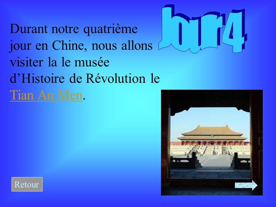 Durant notre quatrième jour en Chine, nous allons visiter la le musée d'Histoire de Révolution le Tian An Men.