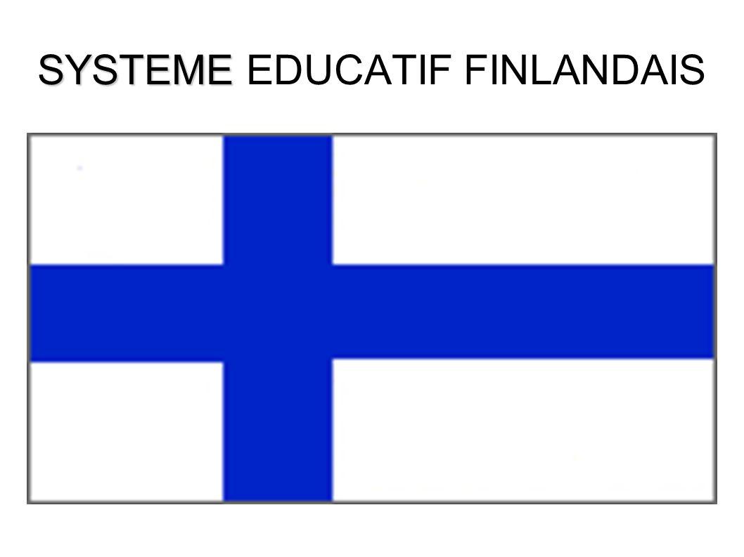 SYSTEME SYSTEME EDUCATIF FINLANDAIS