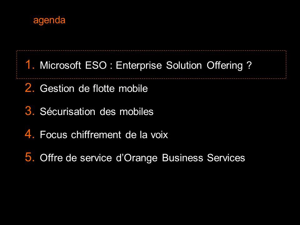 3 Le marché de la mobilité d'entreprise  Nos clients « entreprise » souhaitent une solution mobile facile d'emploi, sécurisée, administrable et à coûts maîtrisés  Difficultés rencontrées : « Je suis inondé de terminaux nouvelle génération (HTC, Samsung, etc…) », « Mon DAF veut absolument un blackberry.», « Mon DG veut que son iPhone soit synchronisé avec l'entreprise.