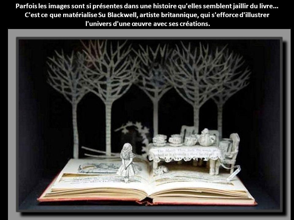 Parfois les images sont si présentes dans une histoire qu elles semblent jaillir du livre...