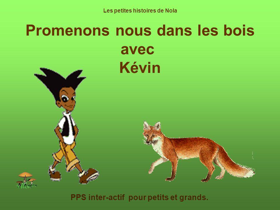 Promenons nous dans les bois avec Kévin PPS inter-actif pour petits et grands.