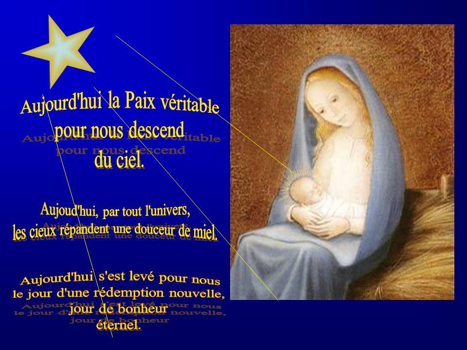 Sermon de saint Léon le Grand Notre Sauveur, mes bien-aimés, est né aujourd'hui : réjouissons- nous ! Il n'est pas permis d'être triste, lorsqu'on cél