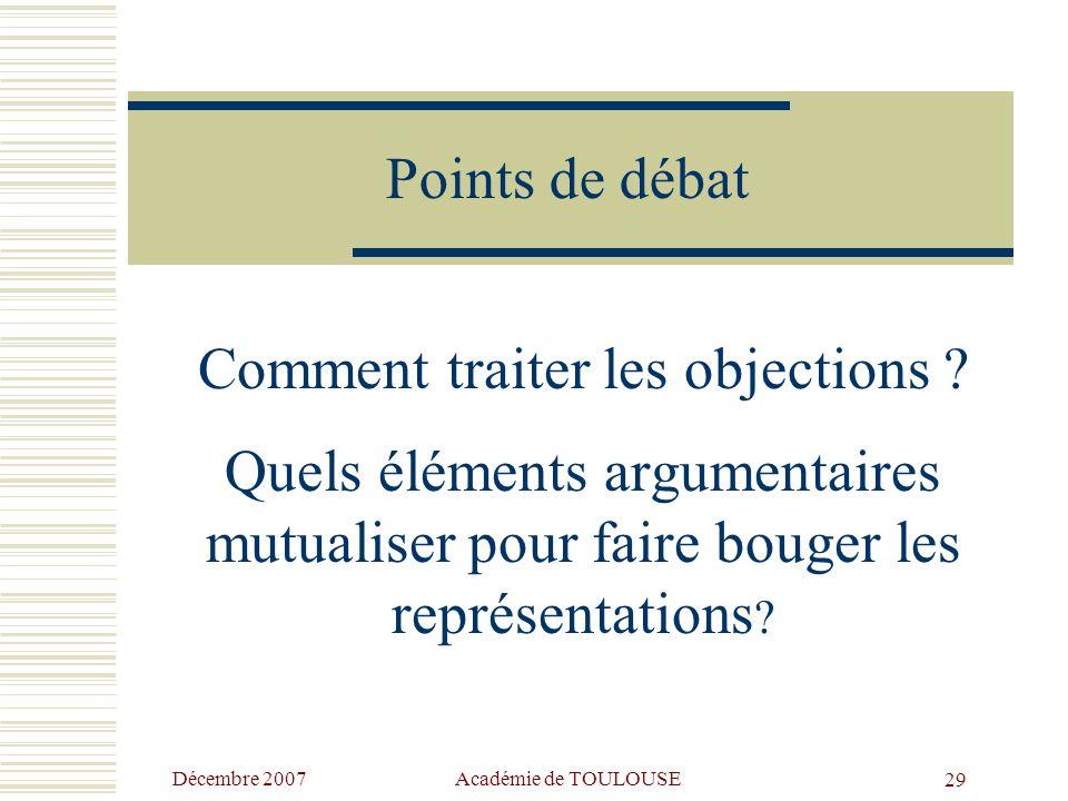 Décembre 2007 Académie de TOULOUSE28 Les 3 types d'évaluation  Évaluation diagnostique : moyen d'identification des acquis et d'analyse des besoins d