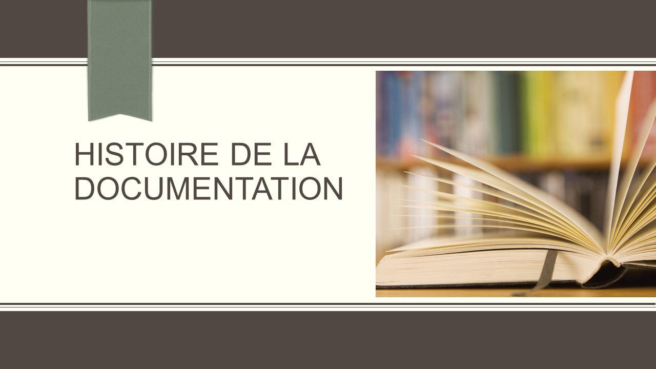 Plan de la présentation  Introduction  Documentation : définition  Documention un peu d'histoire  Documentation et sciences de l'information  Technologie et documentation  Architecture de l'information et documentation  Conclusion  Bibliographies