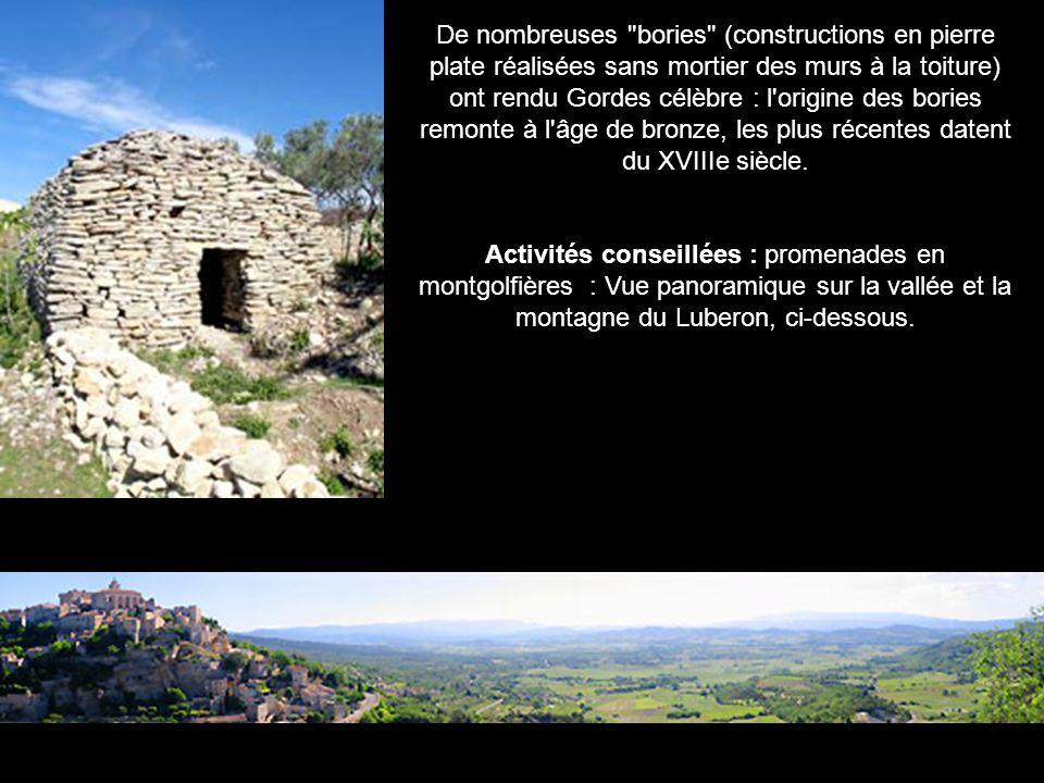 Eglise de Bonnieux Eglise et marché de Roussillon