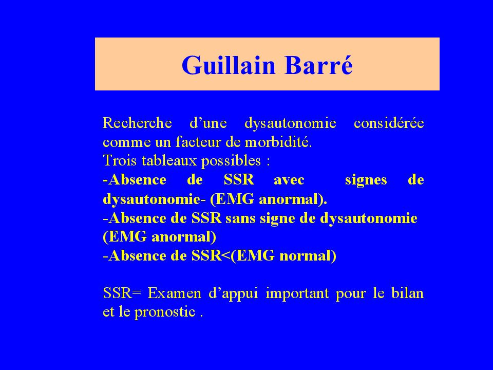 Guillain Barré