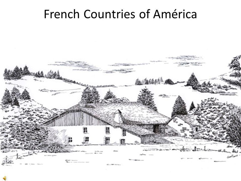 French Countries of América Inspiré par une affiche