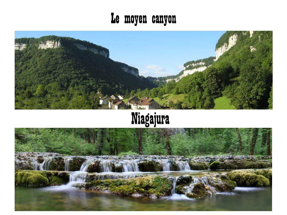 Le moyen canyon Niagajura