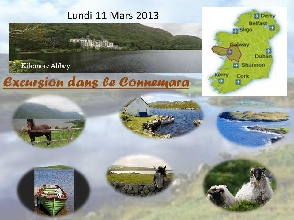 Lundi 11 Mars 2013 Excursion dans le Connemara Kilemore Abbey