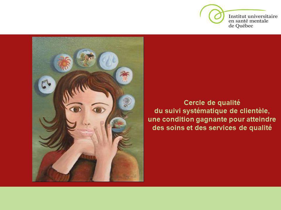 Cercle de qualité du suivi systématique de clientèle, une condition gagnante pour atteindre des soins et des services de qualité