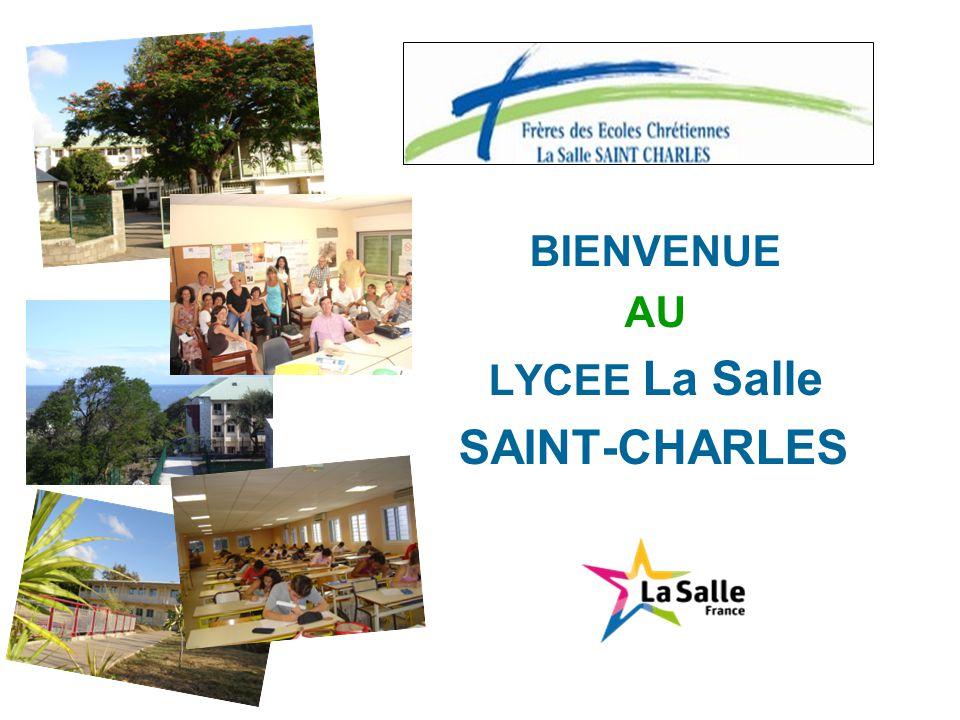 BIENVENUE AU LYCEE La Salle SAINT-CHARLES