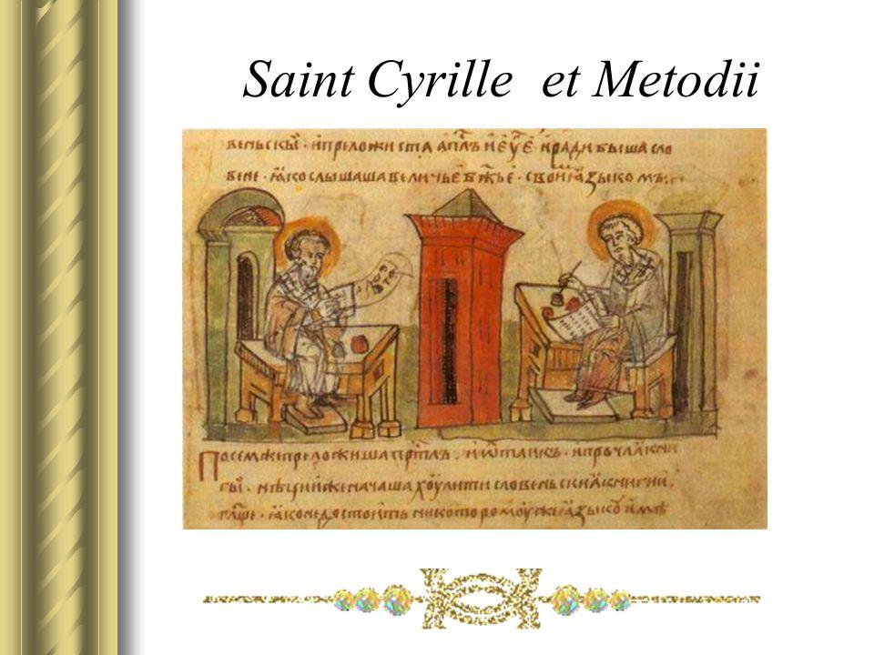 Saint Cyrille et Metodii