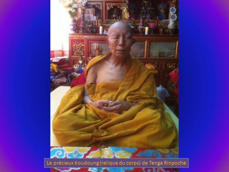 Le précieux Koudoung (relique du corps) de Tenga Rinpoche