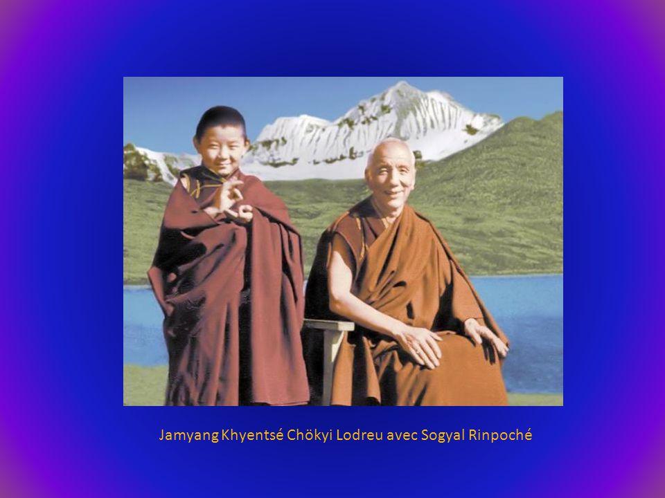 Thouksey Rinpoché, Gyalwang Drukpa (12 ème ) et Khamtrul Rinpoché (9 ème )