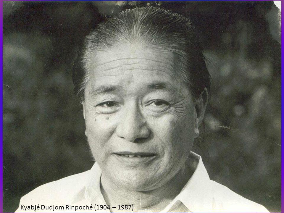Chatral Rinpoché et Kyabjé Dudjom Rinpoché