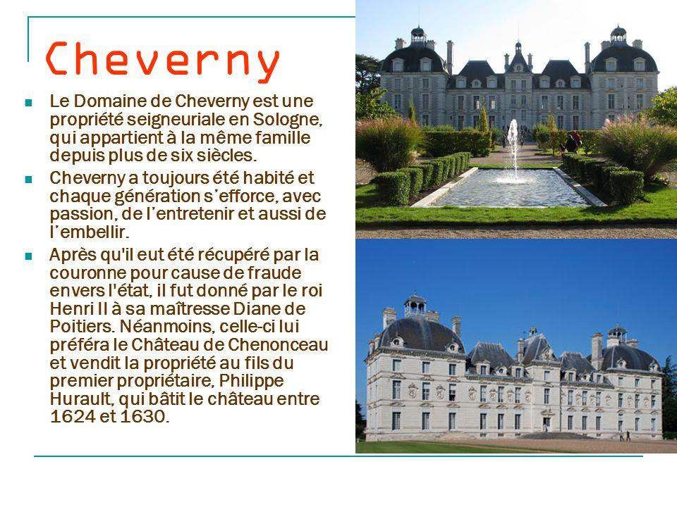 Chenonc eau Au cœur du Val de Loire, berceau de la Renaissance française, le Château de Chenonceau, le Château des Dames, est l'un des monuments les plus aimés, les plus connus, les plus visités.