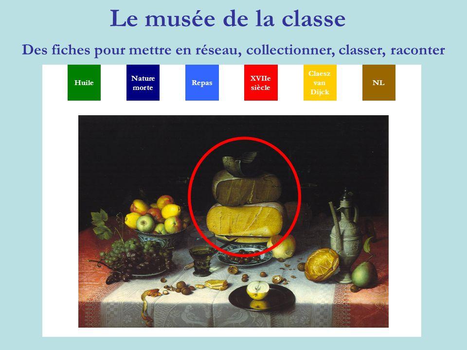 Le musée de la classe Des fiches pour mettre en réseau, collectionner, classer, raconter MGSXYP TH Huile Nature morte XVIIe siècle Claesz van Dijck NL