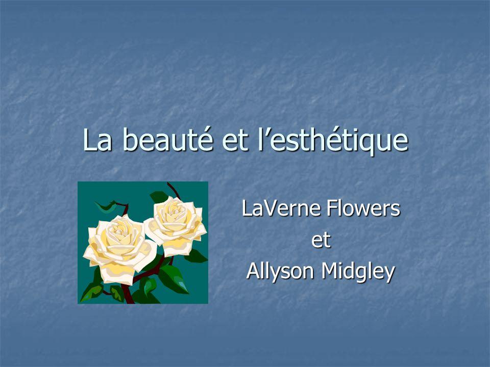 La beauté et l'esthétique LaVerne Flowers et Allyson Midgley