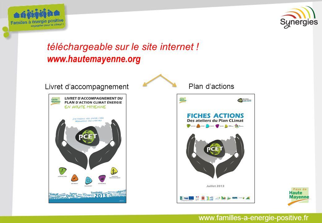 www.familles-a-energie-positive.fr téléchargeable sur le site internet ! www.hautemayenne.org Plan d'actions Livret d'accompagnement