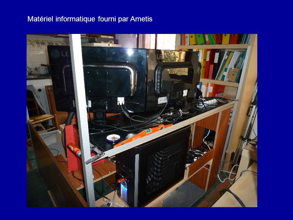 Matériel informatique fourni par Ametis