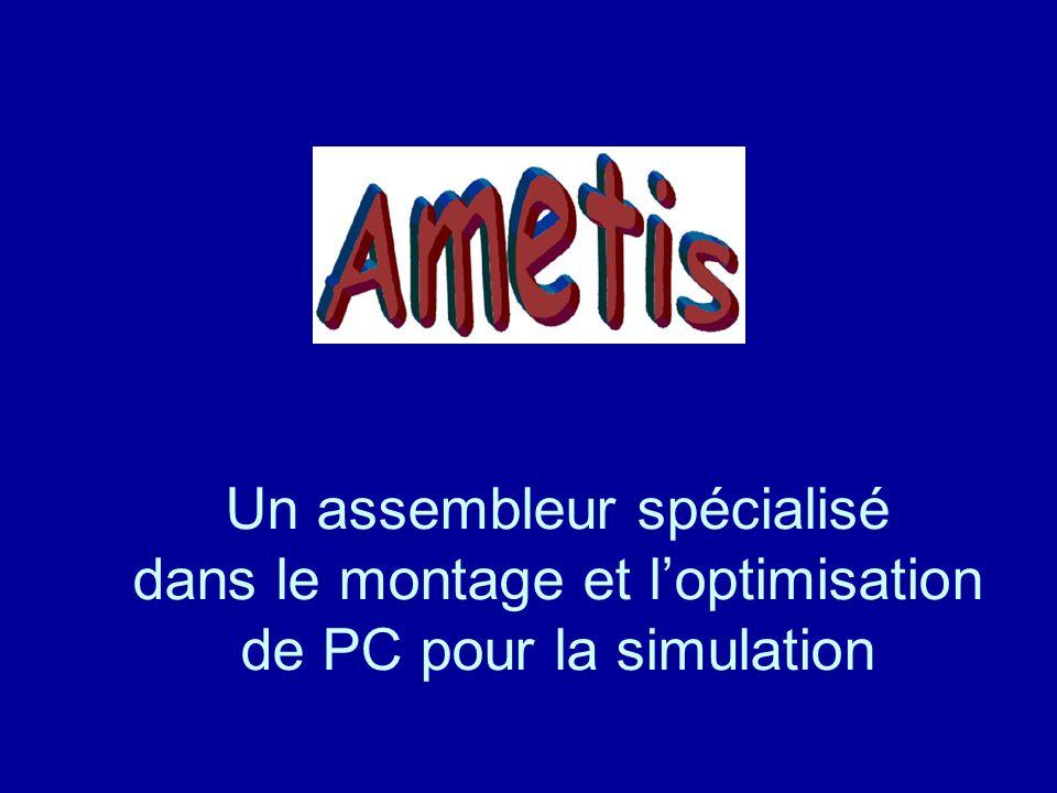 Un assembleur spécialisé dans le montage et l'optimisation de PC pour la simulation