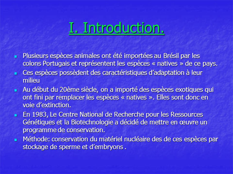 I.Introduction.