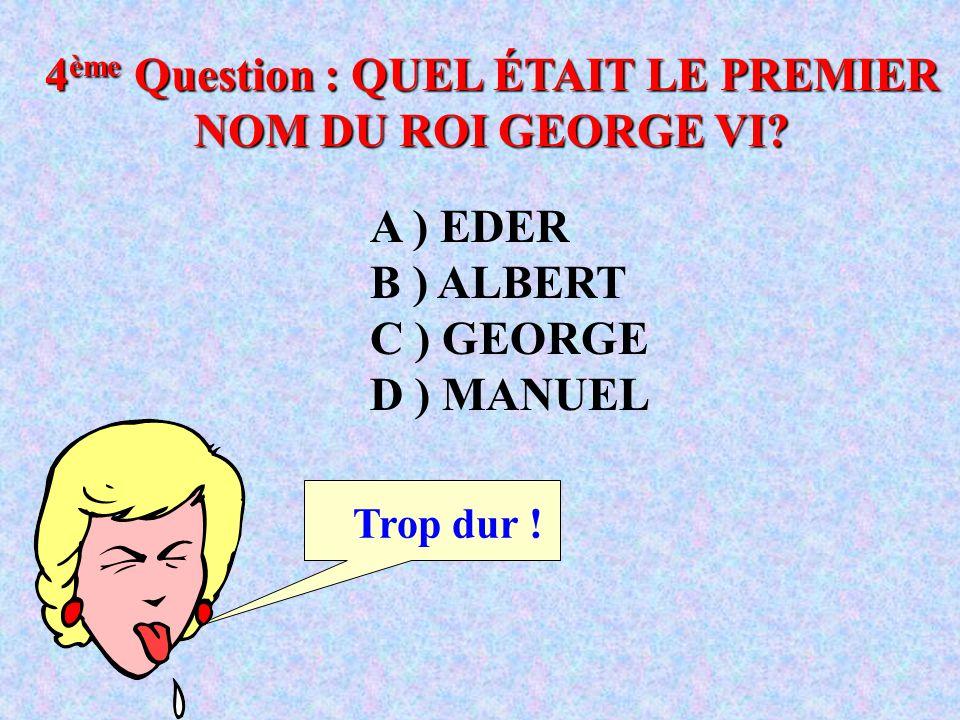 A ) JANVIER B ) SEPTEMBRE C ) OCTOBRE D ) NOVEMBRE 3 ème Question : QUEL MOIS LES RUSSES CÉLÈBRENT-ILS LA RÉVOLUTION D'OCTOBRE? Puis-je demander un jo