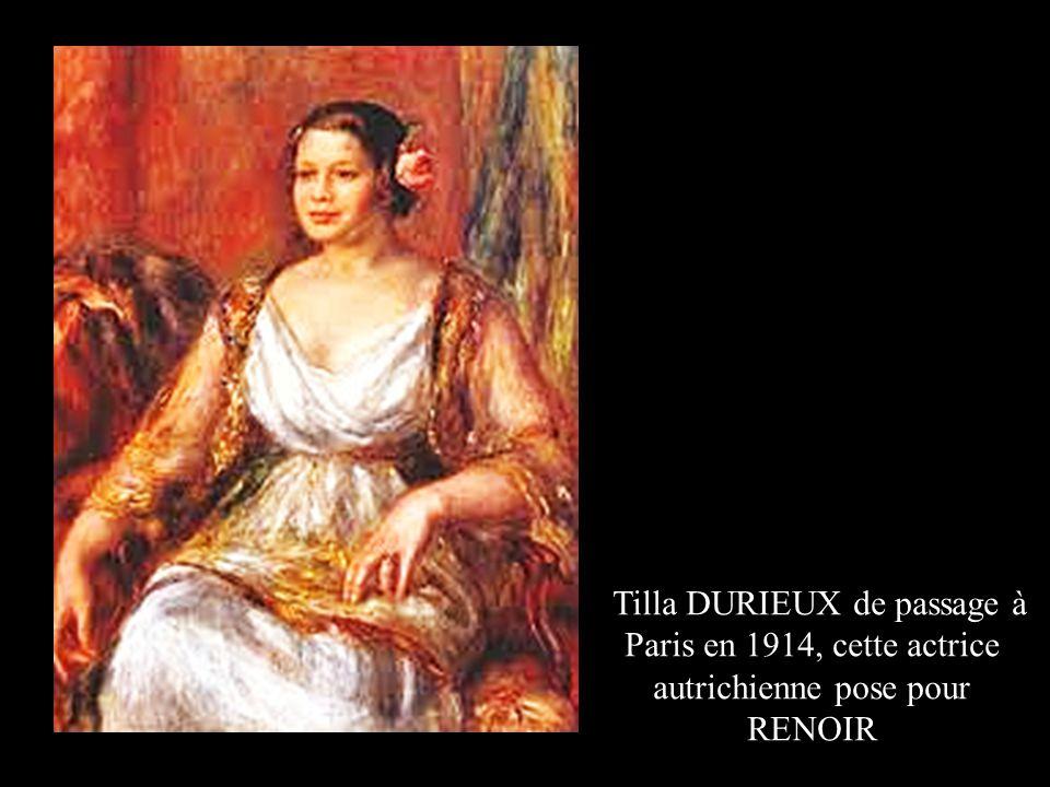 Ambroise VOLLARD, marchand d'art, peint par RENOIR Il révéla également CEZANNE, GAUGUIN et VAN GOGH