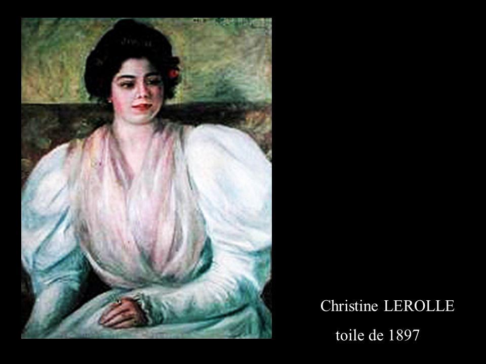 Madame Gaston BERNHEIM de VILLIERS tableau de 1901