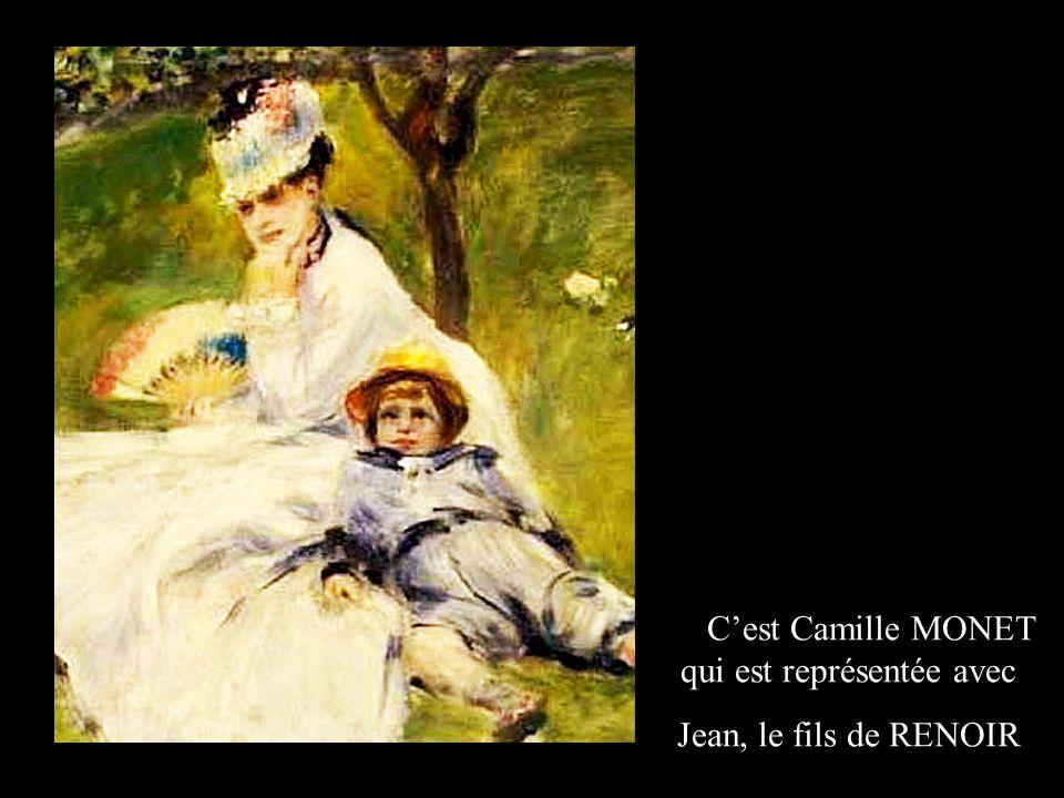 Ce peintre, Frédéric BAZILLE, peignant à son chevalet: était un ami de RENOIR