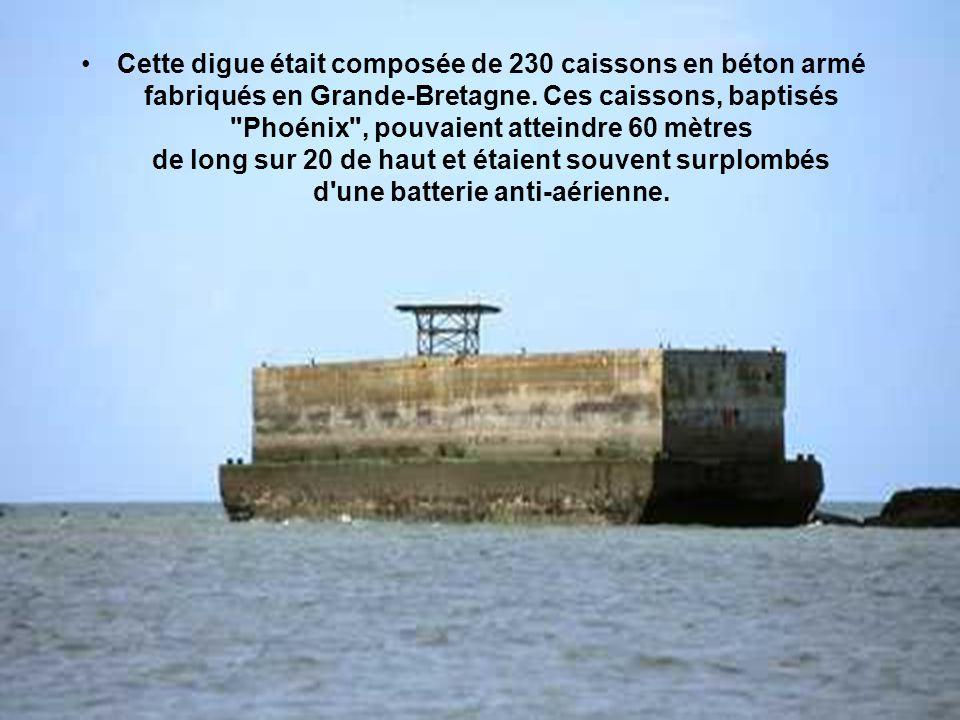Mais tous les ports importants, Le Havre ou Cherbourg, étaient encore aux mains des Allemands.