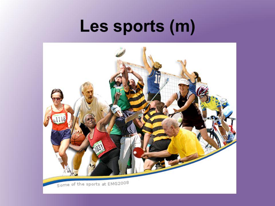 Les sports (m)