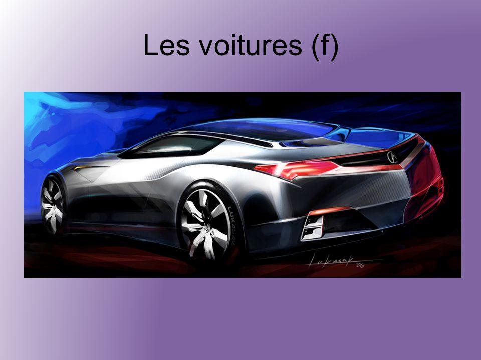 Les voitures (f)