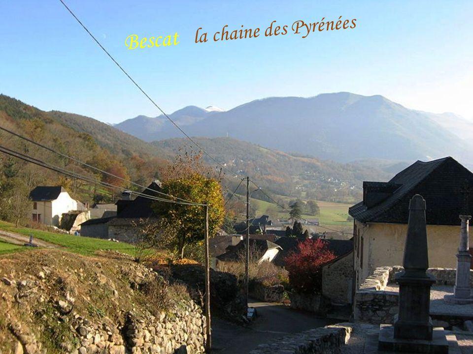 A r u d y La chaine des Pyrénées et la vallée d'Ossau