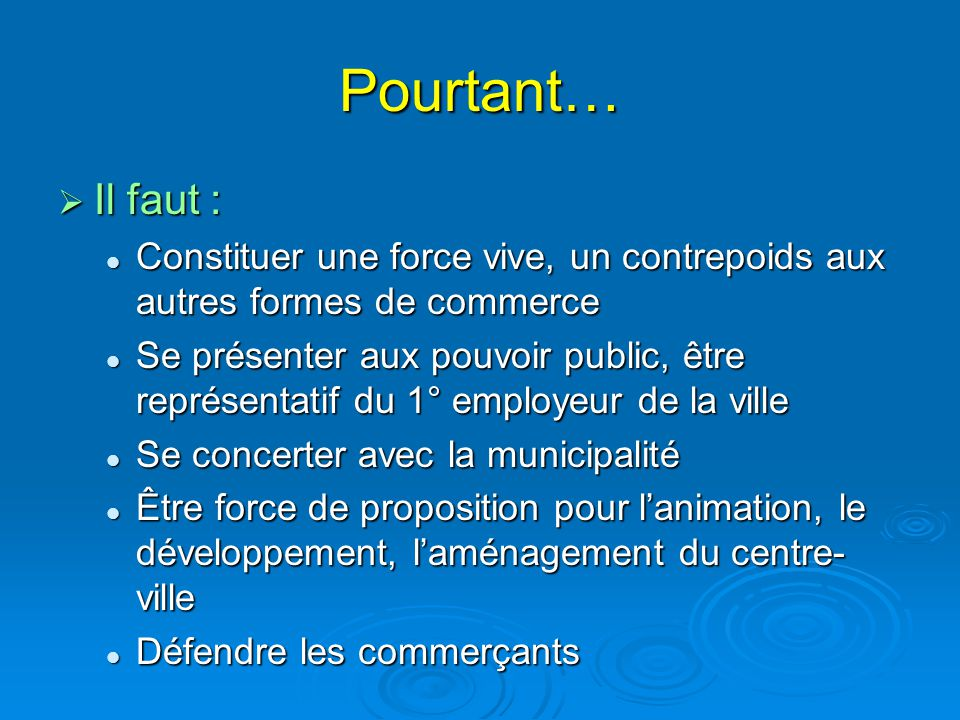 LES ≠ TYPES DE PERSONNALITES  LES SABOTEURS LE PESSIMISTE, LE BORNE, LE TETU, LE TOUJOURS CONTRE TOUT… LE PESSIMISTE, LE BORNE, LE TETU, LE TOUJOURS CONTRE TOUT… NE TRAVAILLENT PAS A ATTEINDRE L'OBJECTIF, NE SONT PAS DANS LE COLLECTIF NE TRAVAILLENT PAS A ATTEINDRE L'OBJECTIF, NE SONT PAS DANS LE COLLECTIF IL FAUT : LES ISOLER EN RAPPELANT LES OBJECTIFS, L'INTERET DE LES ATTEINDRE ET EN RAPPELANT LES REGLES DE FONCTIONNEMENT… SINON, Á EVINCER .