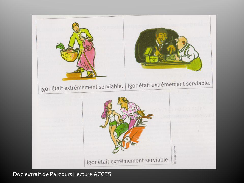 Doc.extrait de Parcours Lecture ACCES