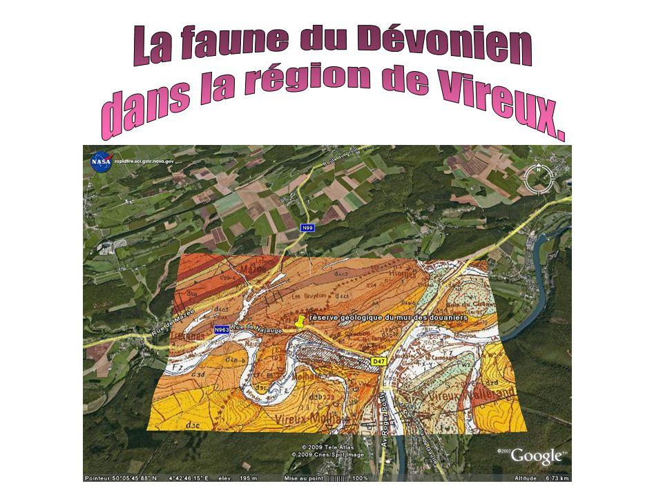 A Vireux Molhain : Deux sites géologiques remarquables : Le Mur des Douaniers, La grande carrière.