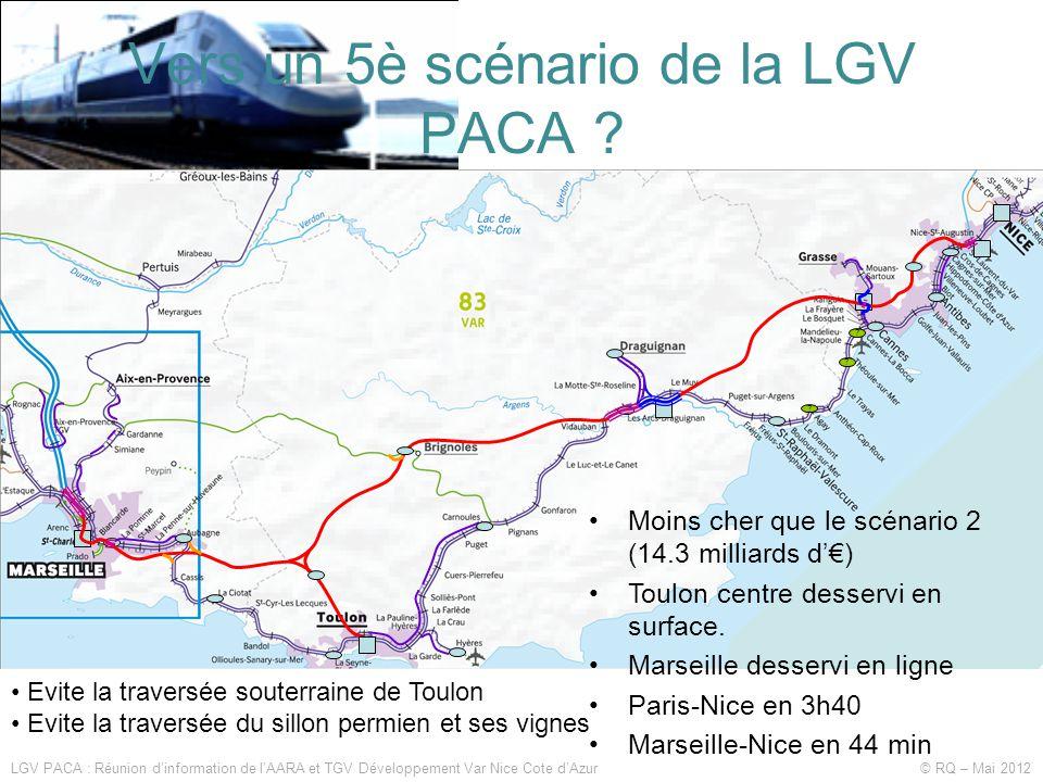 Vers un 5è scénario de la LGV PACA .