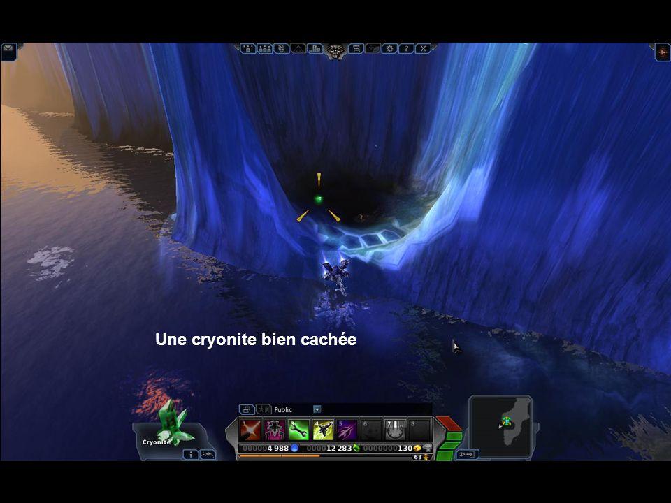 Cryonite malheureusement inaccessible …