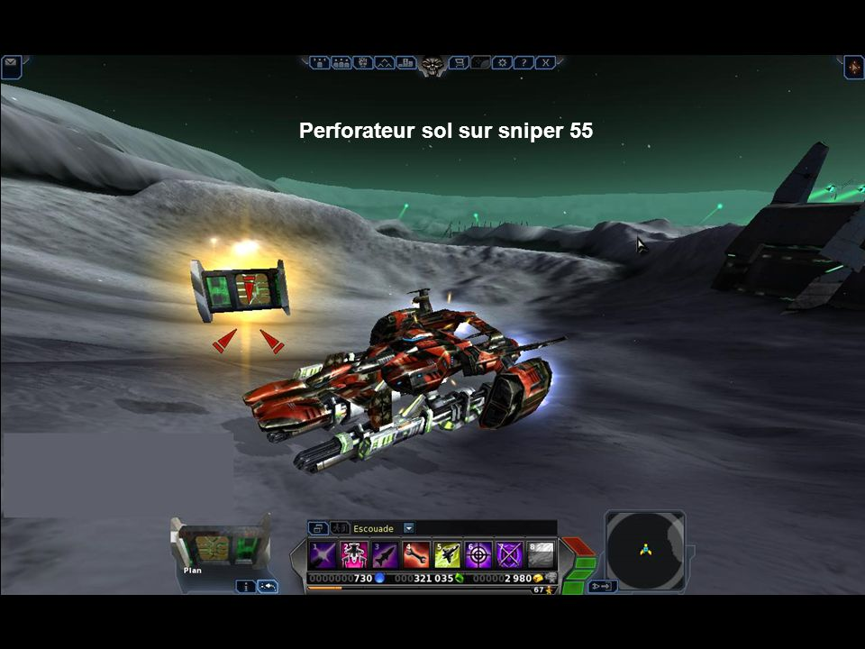 Perforateur sol sur sniper 55