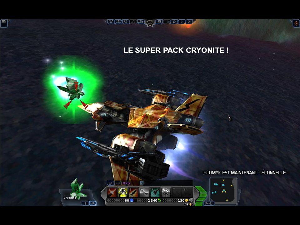 LE SUPER PACK CRYONITE !