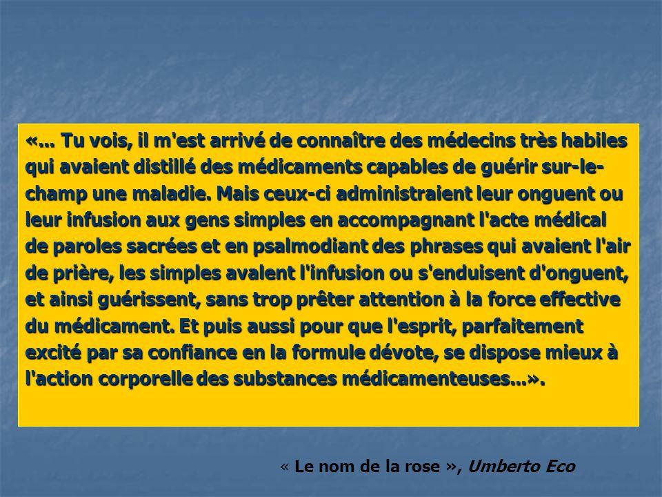 La relation médecin-patient se fonde sur une inégalité le patient est dans un état de faiblesse.