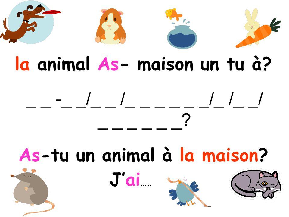 Comment dit-on en français.