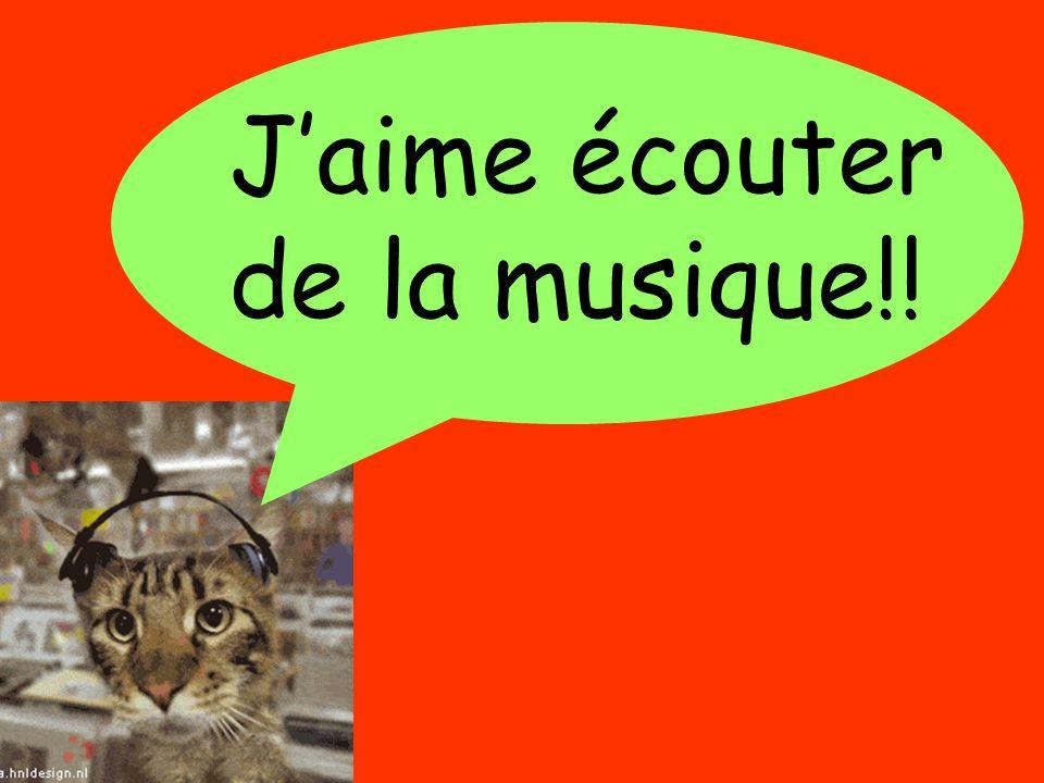 Un sondage J'ai… en françaisQui? As-tu un animal à la maison?