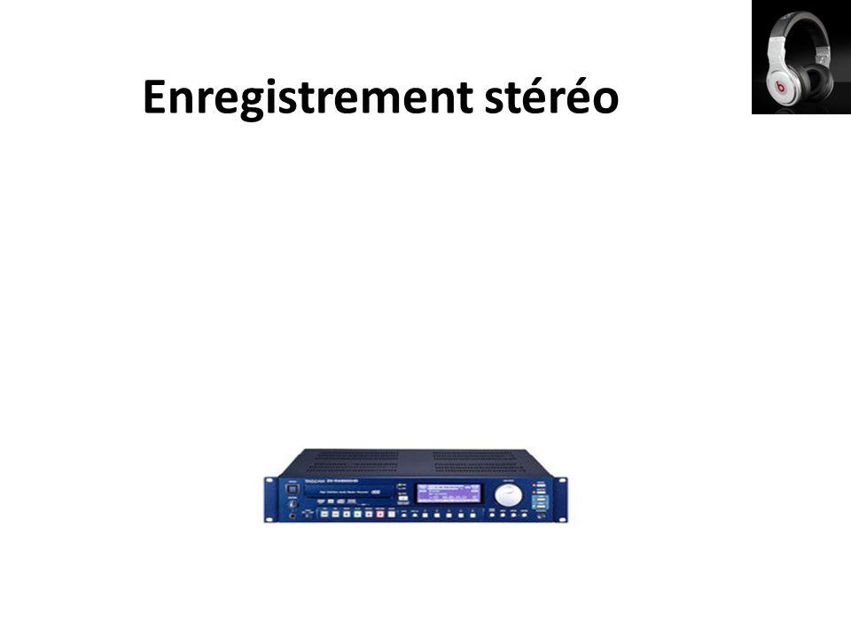 Enregistrement stéréo