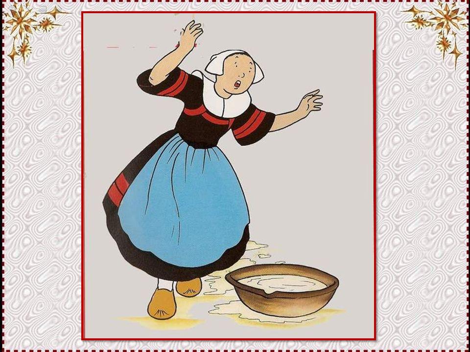 Vous imaginez la réaction de Maman lorsqu'elle a vu le désastre ! Toute la crème gâchée, et la cuisine dans un tel état !
