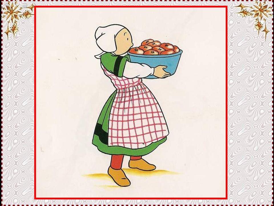 Où vais-je ranger ces belles tomates rouges… Elles sont si jolies, il faut les mettre quelque part ou cela fera vraiment beau ! Réfléchissons !