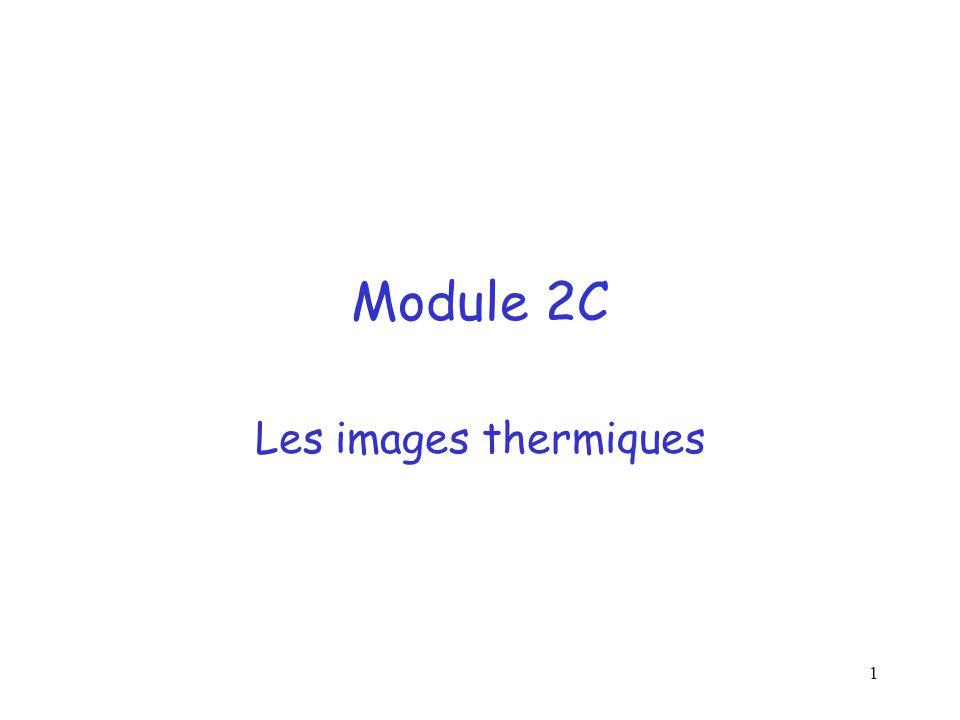 1 Module 2C Les images thermiques