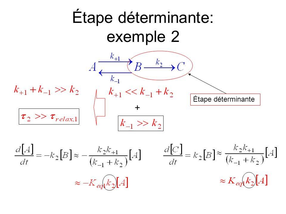Étape déterminante: exemple 2 + Étape déterminante