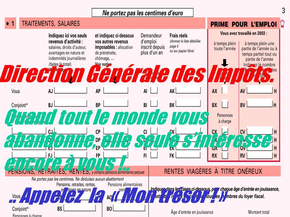 Direction Générale des Impôts.